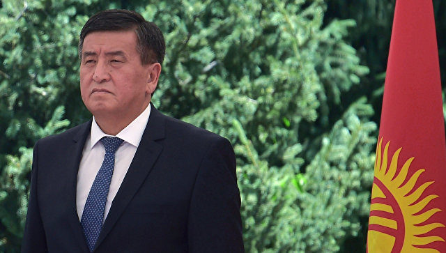 Sooronbai Jeenbekov: no need for early dissolution of Parliament